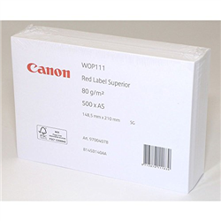 Canon 8145B140 'Red Label Superior 80 g/m2 - A5'(A5 - kapsa, 500 listů, 80 g/m2)