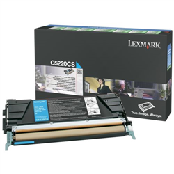 Toner Lexmark C5220CS (Azurový) (Return)