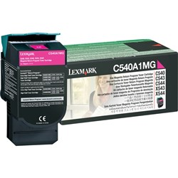 Toner Lexmark C540A1MG (Purpurový) (return)