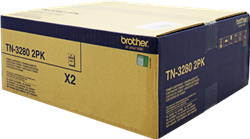 Tonery - Multi Pack Brother TN-3280TWIN (Černý)