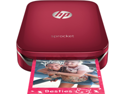 HP Sprocket Photo Printer červená